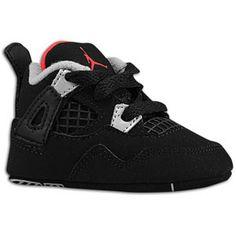 238df6a9d0e3f9 Jordan Retro 4 - Boys  Infant Baby Kicking