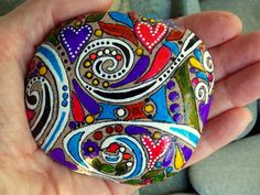 Follow Your Bliss/ Painted Rock / Sandi Pike Foundas / Cape Cod