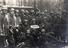 German stormtroopers in Russia, 1917