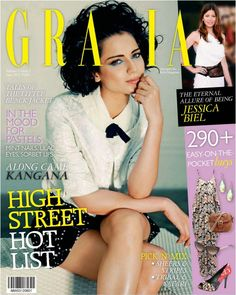 Kangana Ranaut's Grazia Magazine India June 2012 Pictures. | Bollywood Cleavage