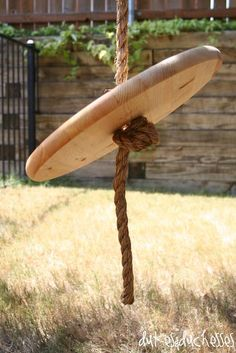 how to make a rope swing ~ backyard ideas