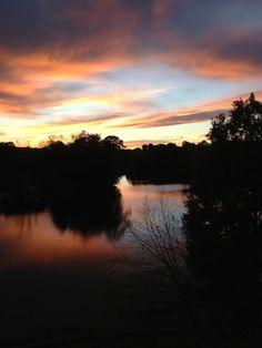 Sunset on Lake Hickory
