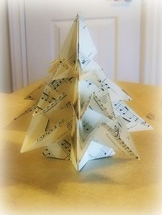 3+D+Origami+Christmas+Tree,+Style+2+#howto+#tutorial