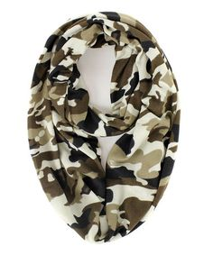Look what I found on #zulily! Sand Camouflage Infinity Scarf by RQ #zulilyfinds