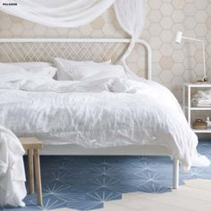 Built  with  a  unique  headboard,  NESTTUN  bed  brings  a  new  look  to  the  bedroom.  $129 .. PE575681