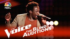 """The Voice 2015 Blind Audition - Anthony Riley: """"I Got You ! R.I.P. Anthony.... found dead Sun ...so very sad!!! Sending prayers to his family and friends ! Such a wonder voice"""