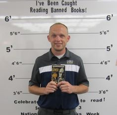"""September 2015 - Banned Books Week - """"I've Been Caught Reading Banned Books!"""" - September 27th thru October 3rd"""
