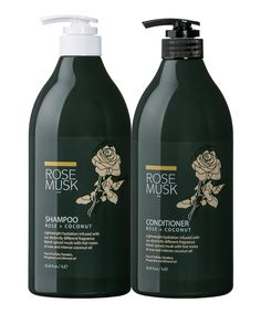 Take a look at this 33.8-Oz. Rose & Coconut Shampoo & Conditioner today!