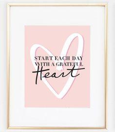 Grateful Heart Print