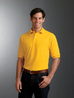 Adult Jersey Polo with SpotShield http://www.raisingtrend.com/412/jerzees-437-adult-jersey-polo-with-spotshield.html