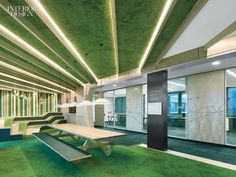 Architects Channel Vibrant City Parks in Office Space