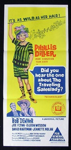 Did You Hear The One About The Traveling Saleslady? #film #poster (1968)
