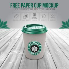 Free Paper Cup PSD Mockup for Showcasing Your Unique Coffee Label Design Coffee Label, Coffee Cups, Paper Cup Design, Coffee Cup Design, Presentation Design, Free Paper, Coffee Bottle, Label Design, Mockup