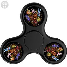 Xiasai Five Nights At Freddy Fidget Spinner Tri-Spinner Hand Spinner Stress Reducer - Fidget spinner (*Amazon Partner-Link)