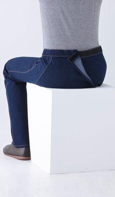 Straight Leg Jeans Wrap WaistParking Puerta de América Hotel