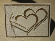 50th Anniversary Card by enjoycraftaction - Cards and Paper Crafts at Splitcoaststampers