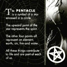Pentacle - A Pentagram in a circle