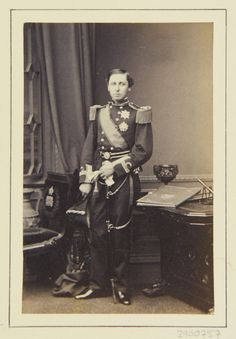 John Jabez Edwin Mayall - Prince Alfred, 1863 [in Portraits of Royal Children Victoria Kids, Queen Victoria Children, Queen Victoria Family, Queen Victoria Prince Albert, Victoria And Albert, Princess Victoria, Princess Alexandra, Princess Beatrice, Prince And Princess