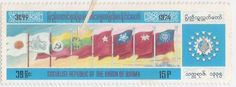 FLAGS and STAMPS: Birds on Flags
