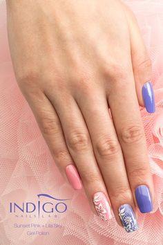 Sunset Pink ( video ) | indigo labs nails veneto