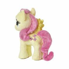 "Amazon.com: Aurora Plush Fluttershy My Little Pony 6.5"" by Aurora: Toys & Games"