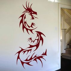 Dragon Wall Decal - From Trendy Wall Designs