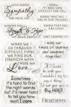 Love Friendship Wishing Well Vintage Stampendous Rubber Stamp Lot --- Love You Thank You