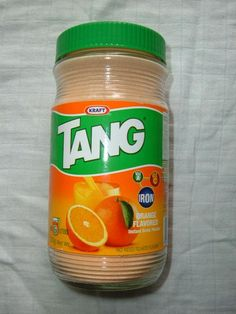 Have you ever had Tang sprinkled over Vanilla Ice Cream...Better than a Dreamsicle!