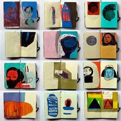 """Sketch book inspiration.  By Guilherme Dietrich """"Oh for the love of art..."""""""