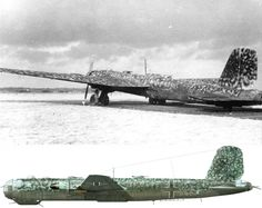 A He 177 A-5 of 3./KG 1 photographed in early 1944 Photo : P. Couderchon Collection Profile : Thierry Dekker