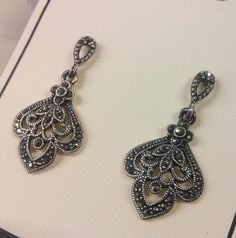silver and marcasite