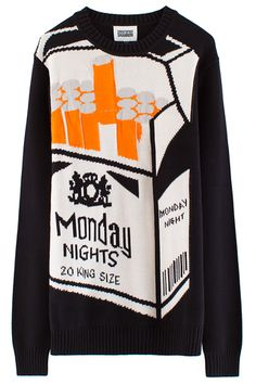 Christopher Shannon Monday Knights Knit Sweater