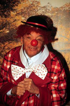 Heinz Schenk als Clown VerkleidungKarneval Fasching Kostüm Hut Perücke