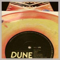 Beautiful 2LP soundtrack to @alejandro_jodorowsky #DUNE  #vinyl by pjsykes