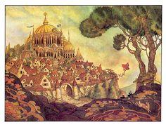 çizgili masallar: Errol Le Cain, The Twelve Dancing Princesses