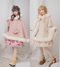 Do you actually wish you could choose your desired hoodie on a regular basis? Our design aid demonstrates you how to. Harajuku Fashion, Kawaii Fashion, Lolita Fashion, Cute Fashion, Fashion Outfits, Sweet Fashion, Gothic Fashion, Dress For You, Warm Outfits