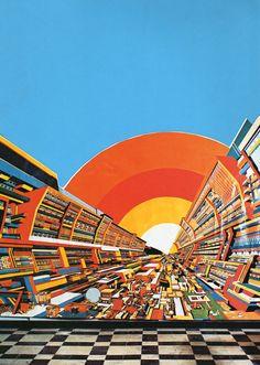 17 Fantastiche Immagini Su I Miei Dipinti La Città Futura