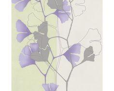 Vliestapete 4-Ever Floral lila/ grün bei HORNBACH kaufen