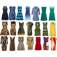Dresses for Deep Autumn by thirtysomethingurbangirl on Polyvore featuring Ganni, Hôtel Particulier, Fat Face, Philosophy di Alberta Ferretti, Jane Norman, a_dress, Angel Eye, True Decadence, TFNC and Issa