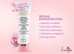 Maschera con acqua distillata di Magnolia delle Marche: speciale Idratazione Attiva#magnolia #idratazione #flower #nature #marche #italy #collistar #maschera #viso #tiamoitalia