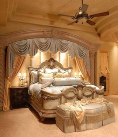 Master bedroom home decor ideas, home furniture, contemporary furniture, master bedroom furniture, luxury homes Dream Rooms, Dream Bedroom, Home Bedroom, Bedroom Furniture, Bedroom Decor, Master Bedrooms, Luxury Furniture, Cheap Furniture, Fantasy Bedroom
