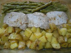 I love this recipe. It is so good for so many reasons. It is a comforting 'meat and potatoes' dish with some tasty fresh green beans throw...