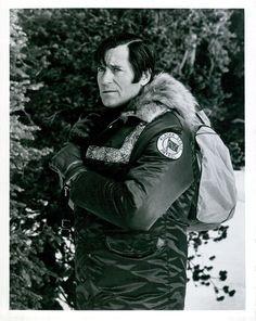 Vintage 1974 Actor Clint Walker on Set of ABC TV Series Kodiak Still Photo | eBay