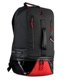 6343d6dfa1a JORDAN RETRO 11 NIKE BACKPACK - BLACK GYM RED 91971KR5 - NEW W TAG!   fashion  clothing  shoes  accessories  unisexclothingshoesaccs   unisexaccessories (ebay ...