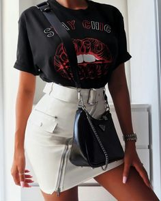 Summer Outfits Women, Trendy Outfits, Cute Outfits, Fashion Outfits, Popular Outfits, Aesthetic Clothes, Korean Fashion, Spring Fashion, Ideias Fashion