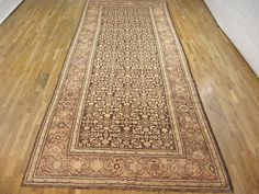 "Caucasian 17' 9"" x 6' 9"" Antique Karabagh at Persian Gallery New York - Antique Decorative Carpets & Period Tapestries"