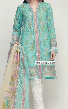 Pakistani Lawn Suits with prices online shopping in USA, UK. Pakistani Fashion Casual, Pakistani Dresses Casual, Pakistani Dress Design, Pakistani Dresses Online Shopping, Online Dress Shopping, Stylish Dresses For Girls, Stylish Dress Designs, Beautiful Pakistani Dresses, Pakistani Lawn Suits
