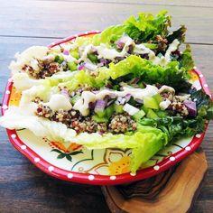 Veggie Quinoa Lettuce Wraps