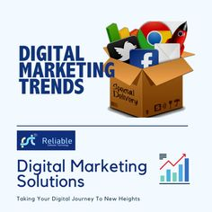 In this digital era, digital marketing is the best solution that can leverage your business to new heights. Get in touch now with Reliable Software Technology, the best digital marketing agency in India. Digital Marketing Trends, S Mo, Software, India, Touch, Technology, Business, Tech, Goa India