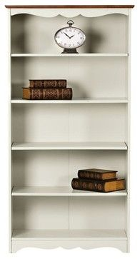 Southport 5-Shelf Bookcase - traditional - bookcases - Home Decorators Collection